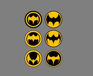 Alternative Batman Logos 1