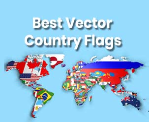 Free Flag Vectors of World Collection (25,000 Free Downloads)
