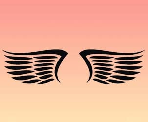 Eagle Wings Design 2