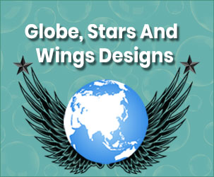 Best Resources for World Map, Globe, Wings & Flag Vectors