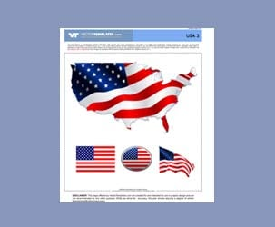 Stars and Stripes Vector Format