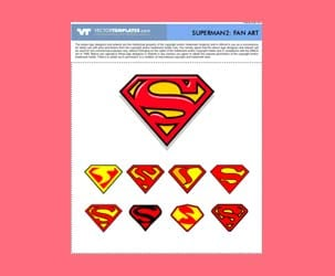 Vector Superman Logos 2: Fan Art : Free Download
