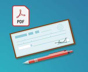 20+ Blank Check Templates in PDF, EPS and Vector Formats