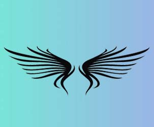 Abstract Wings Design