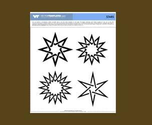 Interlocking Star Shapes