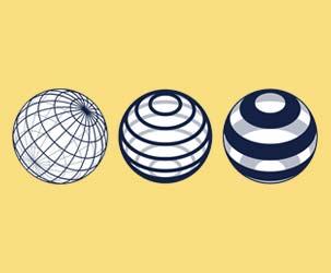 Line Globes 1