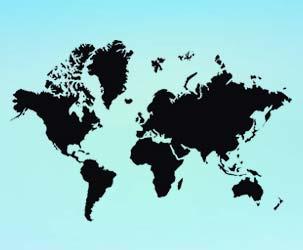 World Map (large map)