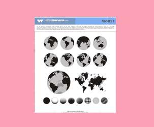 Vector Globes 2