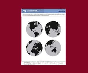 Vector Globes 3 (High Detail)