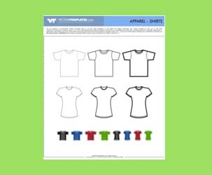 Vector Shirts : Free Download