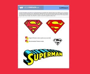 Vector Superman Logos