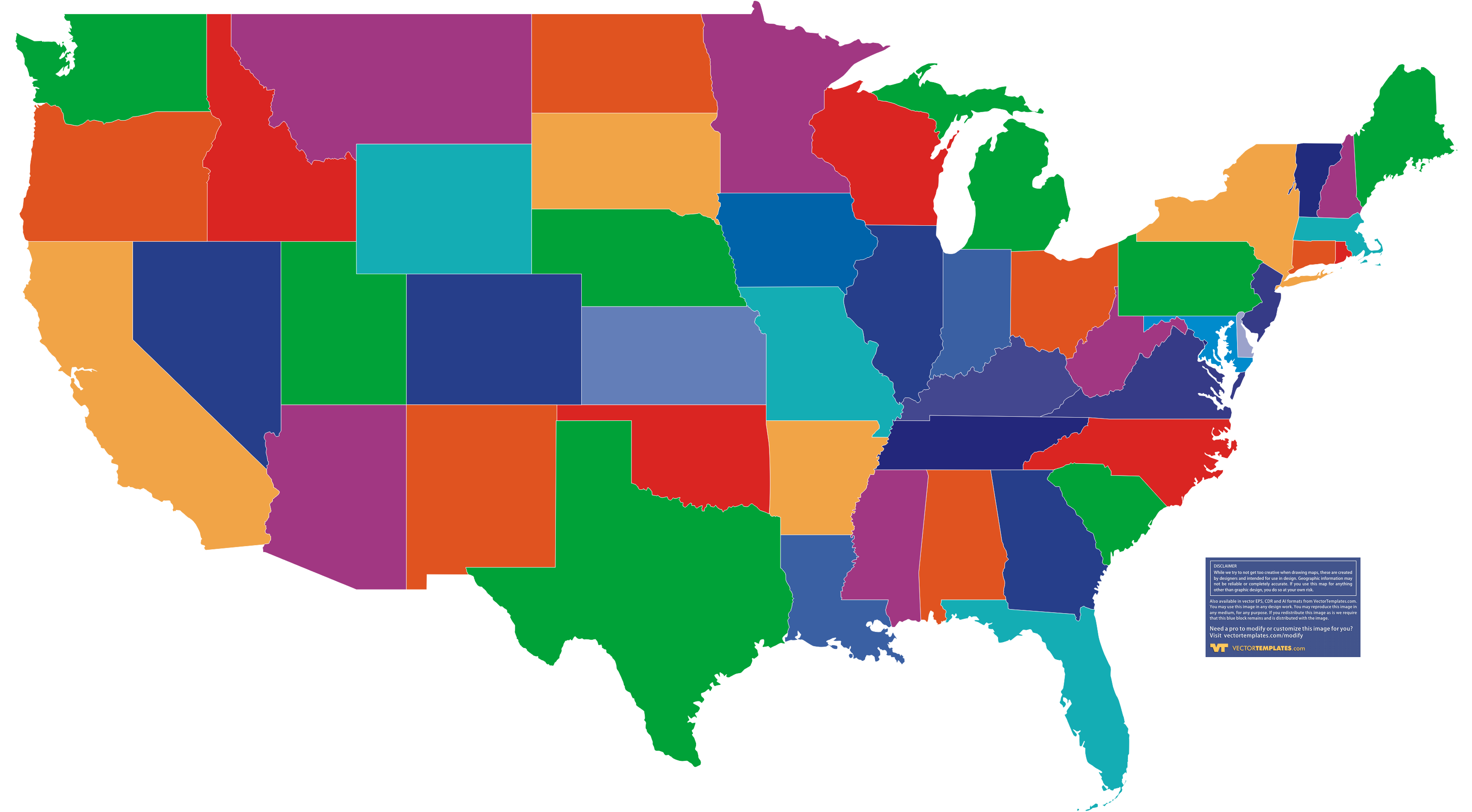 Usa Map Without States Www Proteckmachinery Com
